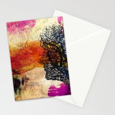 When day you will wake up.. Stationery Cards