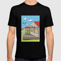 Skewed By Debbie Porter … Mens Fitted Tee Black SMALL