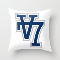 V7 - Darkside Throw Pillow