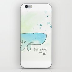 Some Whales iPhone & iPod Skin