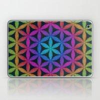 The Flower of Life (Sacred Geometry) 4 Laptop & iPad Skin