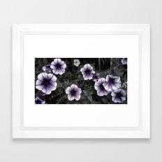 Strange Blooms Framed Art Print