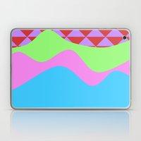 Tribal Waves Laptop & iPad Skin