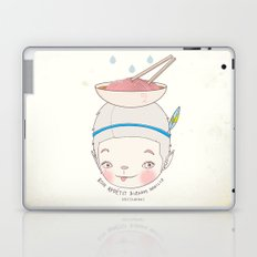 맛! Bon appetit bizarre nouille restaurant ! Laptop & iPad Skin