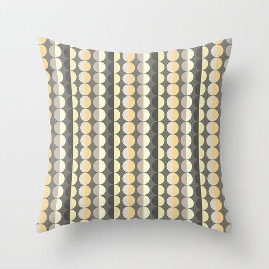 Scandi Strands Throw Pillow