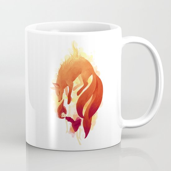 Fire Fox Mug