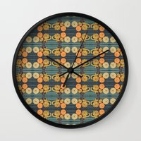 Ghourdly Gatherings Wall Clock