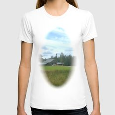 Mellow Morning 1967 Womens Fitted Tee White SMALL