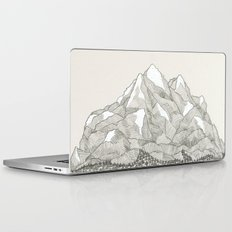 The Mountains and the Woods Laptop & iPad Skin