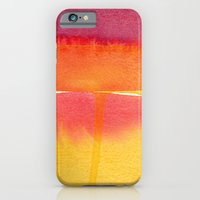 iPhone & iPod Case featuring Color Field No. 5 by Reneé Leigh Stephenson