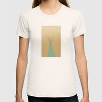 Delicate Womens Fitted Tee Natural SMALL