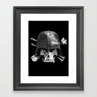 Darth Bones Framed Art Print