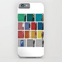 doctor who iPhone & iPod Cases featuring Doctor Who? by The Joyful Fox