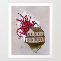 Subtly Secluded Art Print