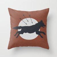 Wolf & Arrow Throw Pillow