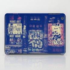 Make Art Not War iPad Case