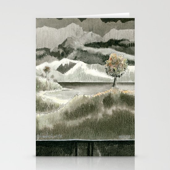 Landscape Stationery Card