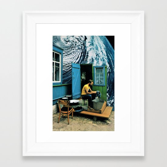 Some Dreams Come True... ( Younger ) Framed Art Print
