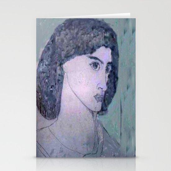 JANE BURDEN STUDY Stationery Card