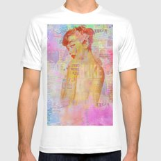 Candy girl Mens Fitted Tee White SMALL