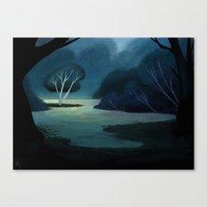 Night Meadow Canvas Print