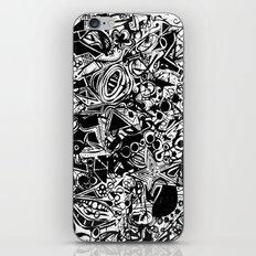 Black/White #1 iPhone & iPod Skin