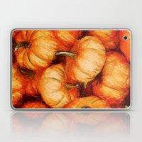 Extreme Orange Laptop & iPad Skin