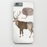 iPhone Cases featuring Repeat the Sounding Joy by David Fleck