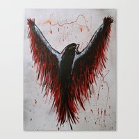 Soaring, Wishing, Thinking Canvas Print