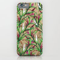 iPhone & iPod Case featuring Floral Pattern by WesSide