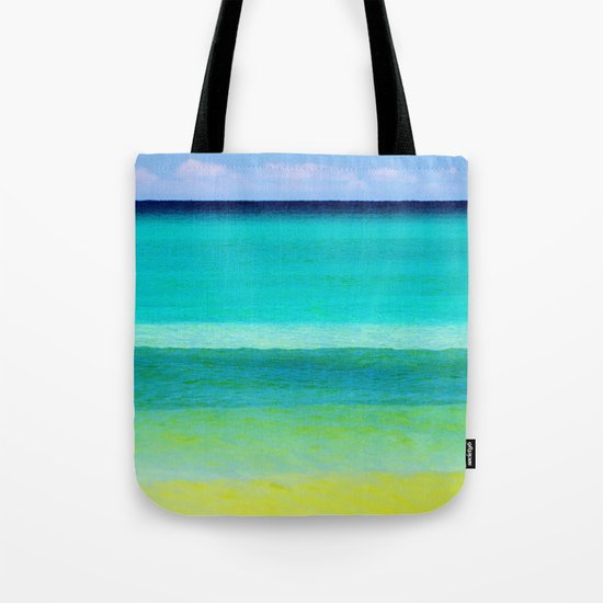 the colors of the sea Tote Bag