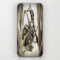 Driftwood (B&W) iPhone & iPod Skin