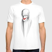 NEMESIS Mens Fitted Tee White SMALL