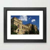 museu paulista Framed Art Print