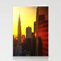 Chrysler Sunrise Stationery Cards