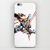 Yeti Vs. Laser Skeletons iPhone & iPod Skin