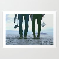 Adventure Love Art Print