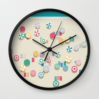 Summer High Wall Clock