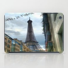 paris, je t'aime iPad Case