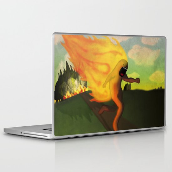 Corriendo Laptop & iPad Skin