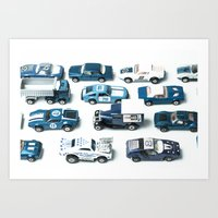 Its A Parking Lot Out Th… Art Print