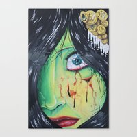 The accident  Canvas Print