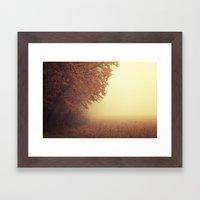 I Was On My Way Dreaming Framed Art Print