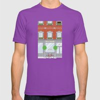 Pinwhistle Way Faccade Mens Fitted Tee Ultraviolet SMALL