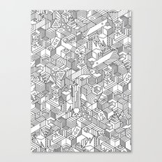 UNHABITATS Canvas Print