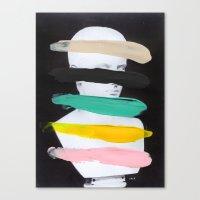 Untitled (Finger Paint 1… Canvas Print