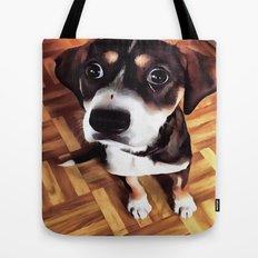 Marty The Soulful Eyed Dog  Tote Bag