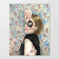 Beth's Lovers Eye Canvas Print
