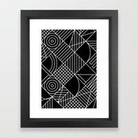 Whackadoodle Framed Art Print