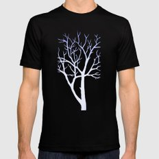 Tree Mens Fitted Tee SMALL Black